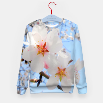 Thumbnail image of Blossoms Close-up Kid's Sweater, Live Heroes