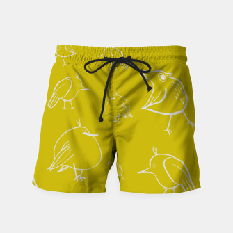 Thumbnail image of Weird Birds Swim Shorts, Live Heroes