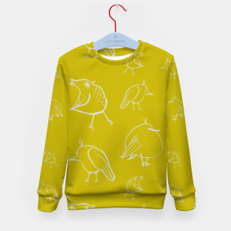 Thumbnail image of Weird Birds  Kid's Sweater, Live Heroes