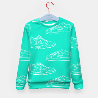 Thumbnail image of Dutch Sneakers Kid's Sweater, Live Heroes