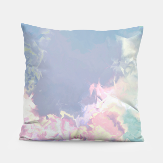 Thumbnail image of Pastel Pieces Pillow, Live Heroes
