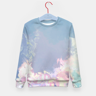 Thumbnail image of Pastel Pieces Kid's Sweater, Live Heroes