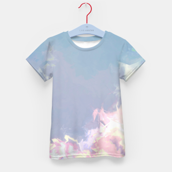 Thumbnail image of Pastel Pieces Kid's T-shirt, Live Heroes
