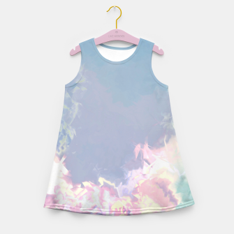 Thumbnail image of Pastel Pieces Girl's Summer Dress, Live Heroes