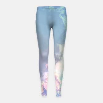 Thumbnail image of Pastel Pieces Girl's Leggings, Live Heroes