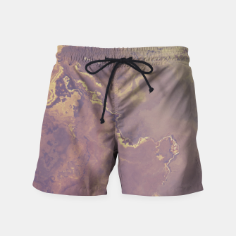 Thumbnail image of Marble Art Swim Shorts, Live Heroes