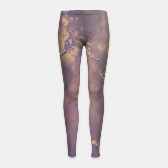 Marble Art Girl's Leggings obraz miniatury