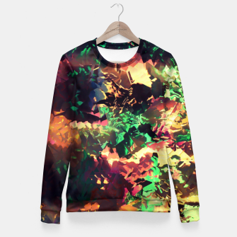 Thumbnail image of Neon Pieces Fitted Waist Sweater, Live Heroes