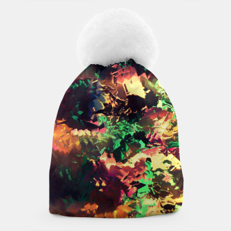 Thumbnail image of Neon Pieces Beanie, Live Heroes