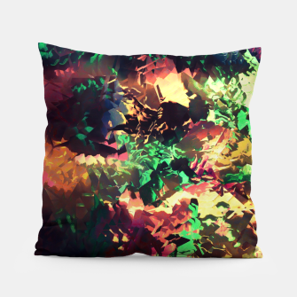 Thumbnail image of Neon Pieces Pillow, Live Heroes