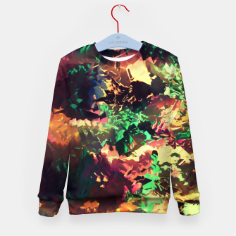 Thumbnail image of Neon Pieces Kid's Sweater, Live Heroes