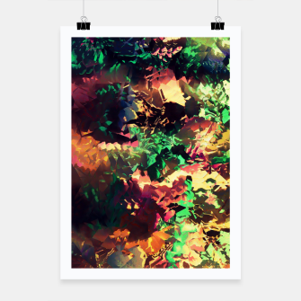 Thumbnail image of Neon Pieces Poster, Live Heroes
