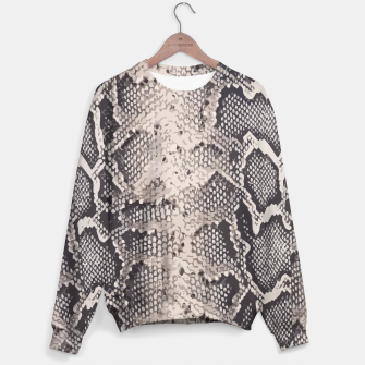 Miniatur Python pattern Sweater, Live Heroes