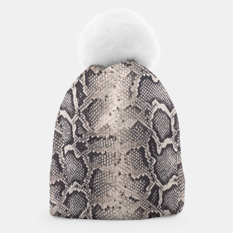 Thumbnail image of Python pattern Beanie, Live Heroes