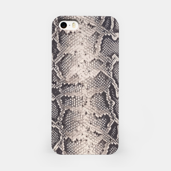 Miniatur Python pattern iPhone Case, Live Heroes