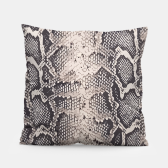 Thumbnail image of Python pattern Pillow, Live Heroes