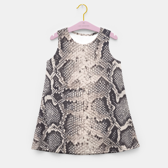 Imagen en miniatura de Python pattern Girl's Summer Dress, Live Heroes