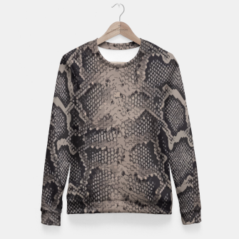 Imagen en miniatura de Python brown Fitted Waist Sweater, Live Heroes