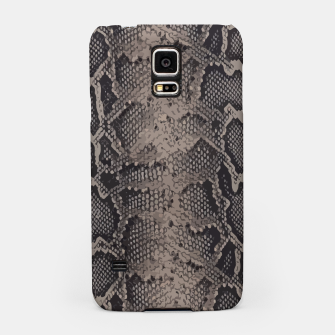 Thumbnail image of Python brown Samsung Case, Live Heroes