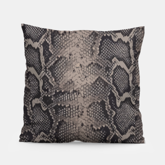 Miniatur Python brown Pillow, Live Heroes