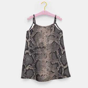 Imagen en miniatura de Python brown Girl's Dress, Live Heroes