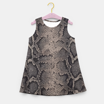 Imagen en miniatura de Python brown Girl's Summer Dress, Live Heroes