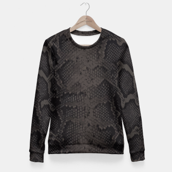 Miniatur Python dark Fitted Waist Sweater, Live Heroes