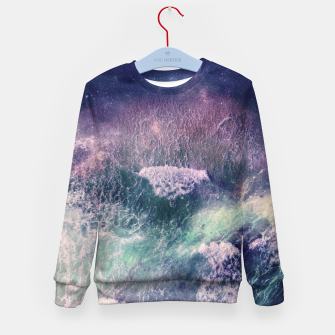 Miniatur Sound of the Sea Kid's Sweater, Live Heroes