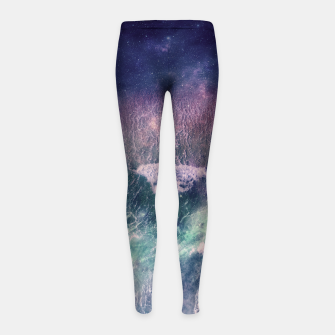 Miniatur Sound of the Sea Girl's Leggings, Live Heroes