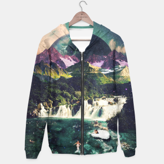 Thumbnail image of Mermaid Island Hoodie, Live Heroes