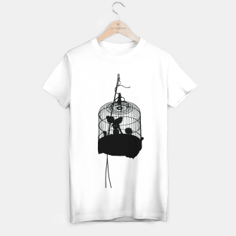 Thumbnail image of caged T-shirt regular, Live Heroes