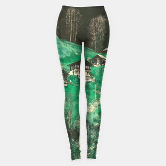 mountain huts Leggings obraz miniatury