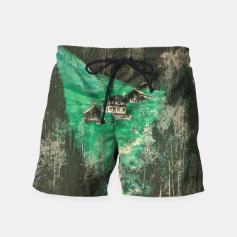 mountain huts Swim Shorts obraz miniatury