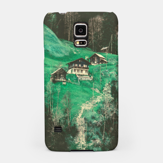 Thumbnail image of mountain huts Samsung Case, Live Heroes