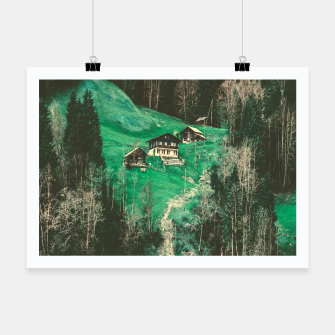 Thumbnail image of mountain huts Poster, Live Heroes