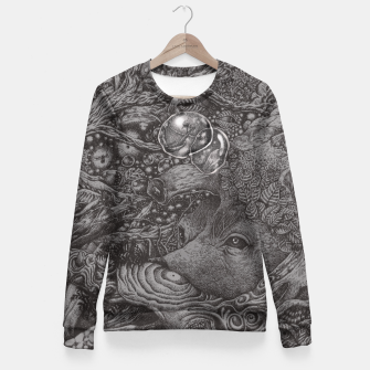 Thumbnail image of AN EMPTY DREAM Fitted Waist Sweater, Live Heroes