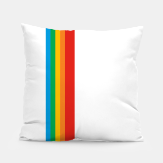 Thumbnail image of Instant Stripe Pillow, Live Heroes