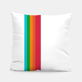 Thumbnail image of Stripeoid Pillow, Live Heroes