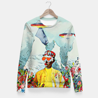 Thumbnail image of Ufo  Fitted Waist Sweater, Live Heroes