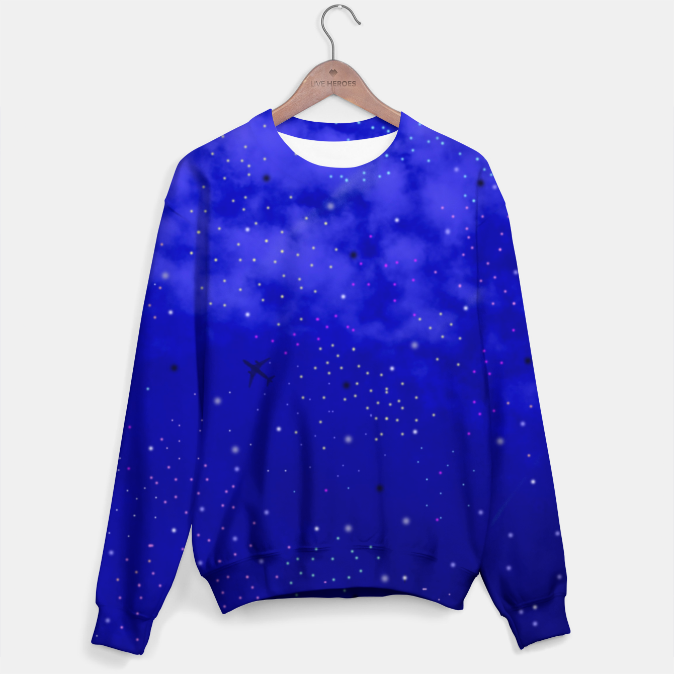 Image of Middle of the Night Sweater - Live Heroes