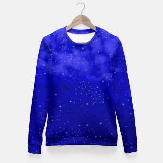 Thumbnail image of Middle of the Night Fitted Waist Sweater, Live Heroes