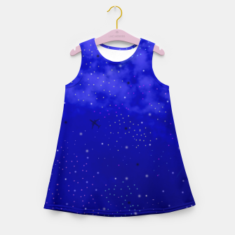 Thumbnail image of Middle of the Night Girl's Summer Dress, Live Heroes