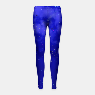 Thumbnail image of Middle of the Night Girl's Leggings, Live Heroes