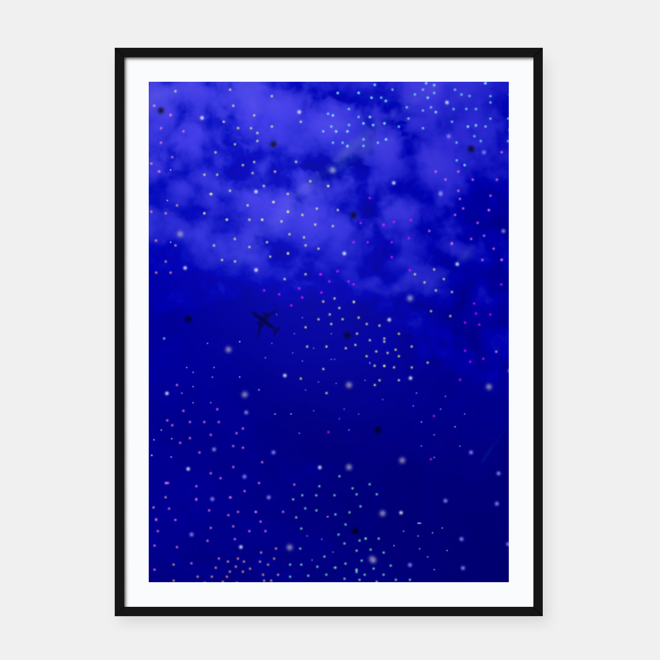 Image of Middle of the Night Framed poster - Live Heroes