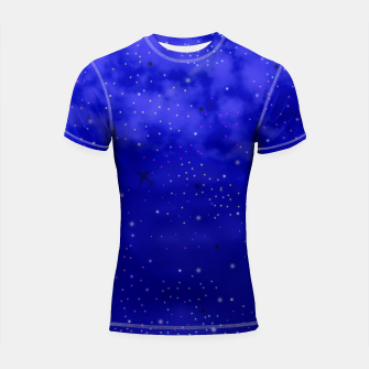 Thumbnail image of Middle of the Night Shortsleeve Rashguard, Live Heroes