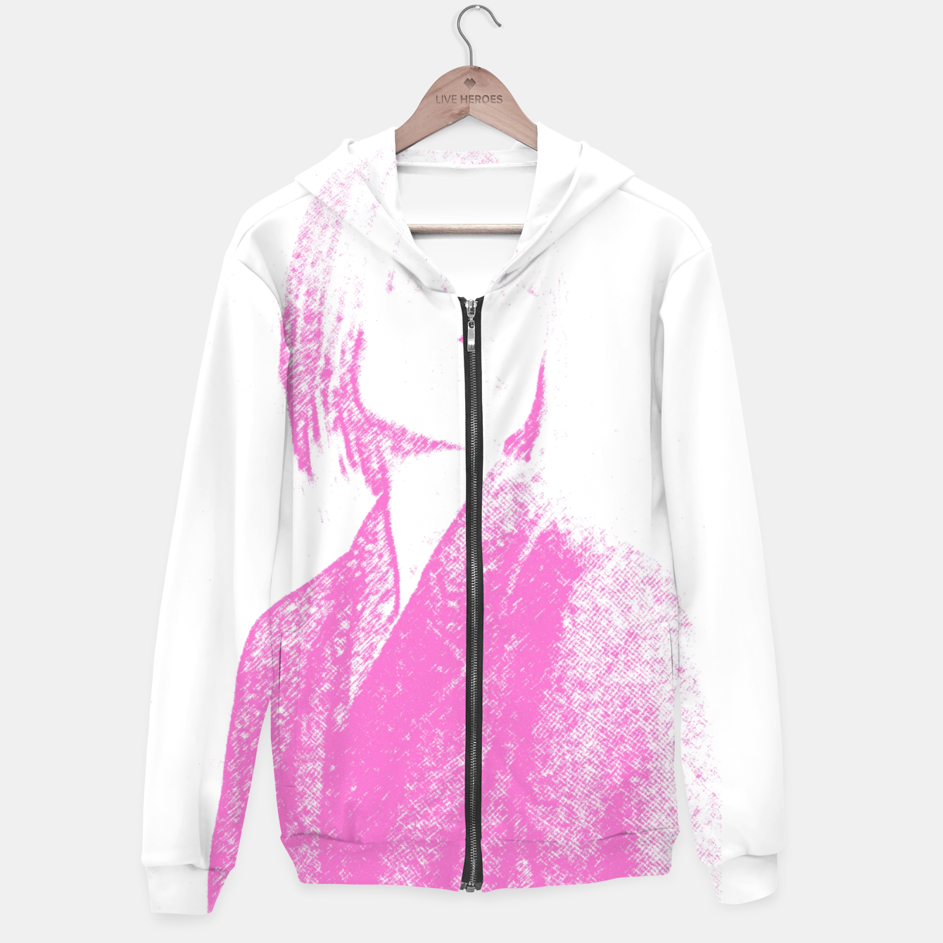 Image of Within Colour Hoodie - Live Heroes