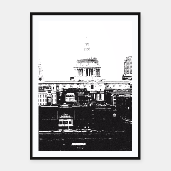Thumbnail image of The City Framed poster, Live Heroes