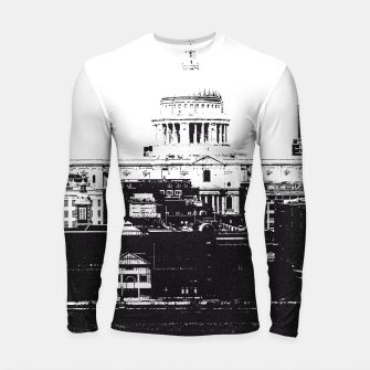 Thumbnail image of The City Longsleeve Rashguard , Live Heroes