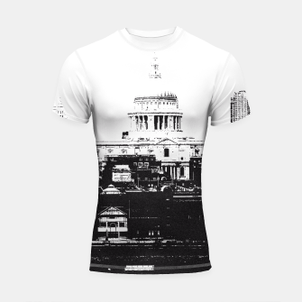 Thumbnail image of The City Shortsleeve Rashguard, Live Heroes