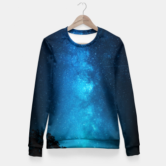 BLU NIGHT Fitted Waist Sweater obraz miniatury